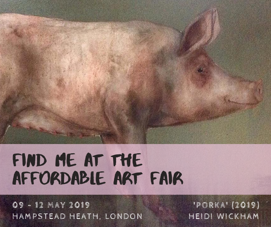 Exhibition: Fresh Art Fair, Affordable Art Fair & SCOOP Auction (April – May 2019)